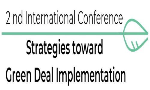 II Międzynarodowa Konferencja nt. Strategii Wdrażania Zielonego Ładu – Woda, Surowce i Energia (ICGreenDeal2021)