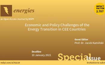 Zaproszenie do publikacji artykułów naukowych w czasopiśmie ENERGIES