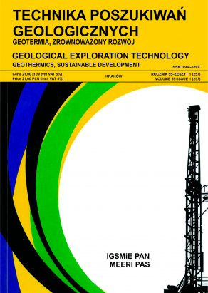 Technika Poszukiwań Geologicznych, Geotermia, Zrównoważony Rozwój – Geological Exploration Technology, Geothermal Energy, Sustainable Development
