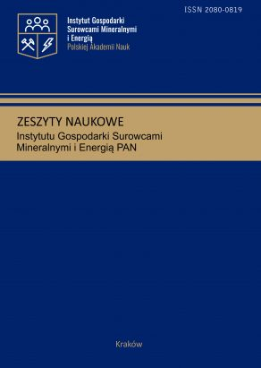 Zeszyty Naukowe Instytutu Gospodarki Surowcami Mineralnymi Polskiej Akademii Nauk – The Bulletin of The Mineral and Energy Economy Research Institute of the Polish Academy of Sciences